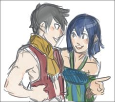 Fairy Tail - Romeo and Wendy. I want this to happen in the future!