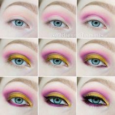 @dressedinmint - AZTEC Gold step by step ~~ using: Glazel pink... - EnjoyGram