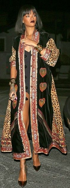 Os Casacos de Rihanna