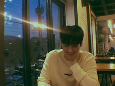 """""""by jangan foto foto gitu dong, aku malu nih"""" Cha Eun Woo, Wonwoo, Daehyun, Kim Myungsoo, Cha Eunwoo Astro, Lee Dong Min, W Two Worlds, All About Kpop, Boyfriend Pictures"""