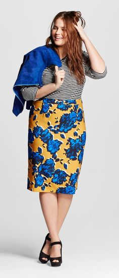 e8620f6f67ad7 Plus Size Pencil Skirt - Who What Wear at Target