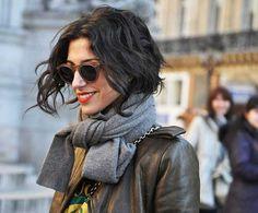 El pelo corto también se lleva si lo tienes ondulado. Todo es cuestión de un buen corte