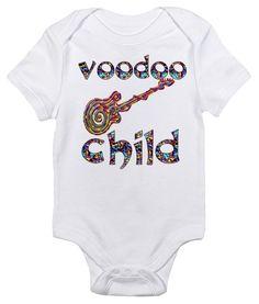 Jimi Hendrix Voodoo Child Onesie And This One Too Baby Girl