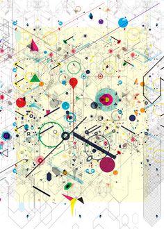 """Diego Bellorin / série """"Virtual Chaos""""."""