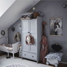 Girls' Rooms with Grey - with pink details or backdrop, Scandinavian style, colourful décor.Check out these inspirational rooms! hacks for teens girl should know acne eyeliner for hair makeup skincare Living Room Bedroom, Girls Bedroom, Bohemian Style Bedrooms, Little Girl Rooms, Kid Spaces, Small Spaces, Kidsroom, Kids Decor, Colorful Decor