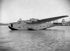 The Pan American World Airways Boeing 314 Yankee Clipper (serial NC18603), circa 1939. This aircraft started the Transatlantic mail service. It crashed in Lisbon, Portugal, on 22 February 1943 and was written off.