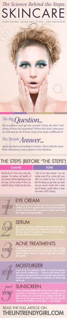 The Science Behind the Steps: Skincare #skincare #howto #stepbystep - bellashoot.com