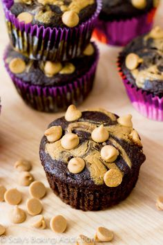 Skinny Chocolate Peanut Butter Swirl Cupcakes Shopping online and booking travel is just not as much fun as booking travel and shopping with a Dubli Free or VIP membership and getting cash back for those purchases. http://www.dubli.com/T0US1B3FL