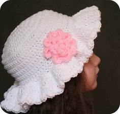 Easter Bonnet Hat Crochet Pattern | Flickr - Photo Sharing!