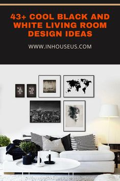 43+ Cool Black And White Living Room Design Ideas #white #whitelivingroom #whitelivingroomdesign Bedroom Themes, Bedroom Styles, Bedroom Decor, Teen Girl Rooms, Girls Bedroom, Bedrooms, Rearranging Furniture, Black And White Living Room, Fashion Room