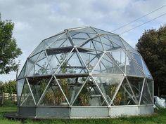 Geodesic dream green house