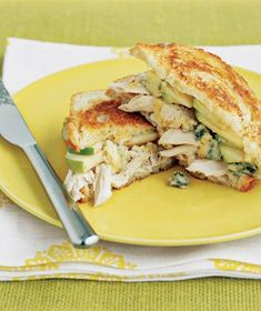 Chicken Sandwiches With Melted Cheese Recipe
