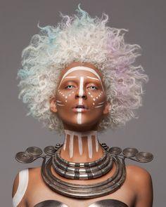Afrofuturism. Artist: Luke Nugent