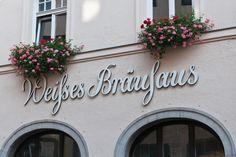 Weisses Brauhaus in Munich, Germany.