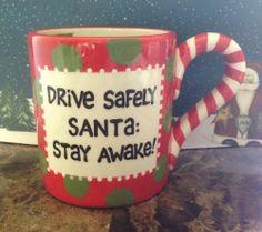 Our Name is Mud Lorrie Veasey Drive Safe Secret Santa gift Christmas Mug New