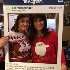 #Throwback to our holiday-themed #KKPRHappyHour! Join us tonight at our favorite watering hole, @tworiversgrille, at 5:30 for our next #happyhour. Holiday sweaters are not encouraged, but we won't judge! #KKPR #SeeShtDifferently #networking