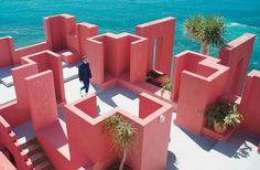 La Muralla Roja, Ricardo Bofill. Calpe.1973