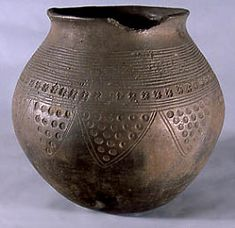 Ashmolean Museum: PotWeb: Early Saxon pottery 6Production centre a workshop or (perhaps a single potter) at work in the area around Illington and Lackford, Suffolk Distribution local Use as a cremation urn Date Mid - late 6th century AD