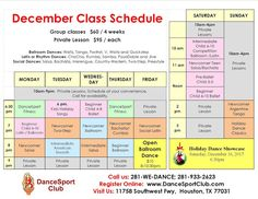 Dear Friends, We hope you all are enjoying this warm November weather. Group Dance, Dance Class, Class Schedule, Dance Lessons, Ballroom Dance, Dear Friend, Tango, Houston, Competition