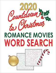 Amazon.com: Countdown to Christmas 2020: Romance Movies Word Search: Holiday Word Find Puzzle Gift for Adults and Teen Puzzlers (Word Puzzles for Adults Large Print) (9798694574334): JBC Word Search: Books