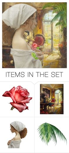 """Lost In Thought"" by lois-boyce-flack ❤ liked on Polyvore featuring art"