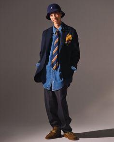 Popeye Magazine, Male Magazine, Japan Fashion, Boy Fashion, Mens Fashion, Skate Wear, Boys Wear, Well Dressed, Preppy