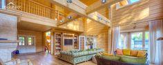 Traditional log home - Honkatalot.fi