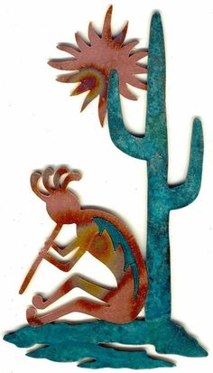 CopperCutts Siesta Kokopelli x Wall Plaque Rustic Copper and Wood Native Art, Native American Art, Copper Artwork, Southwestern Home Decor, Wood Burning Patterns, Scroll Saw, Wall Plaques, Canvas Wall Art, Art Deco