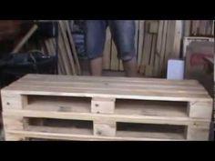 Sofá de palets - YouTube
