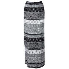 Garage Woven Maxi Skirt