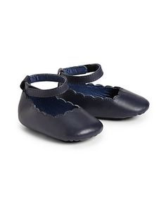 Chloé - Infant's Leather Ballerina Flats - Saks.com