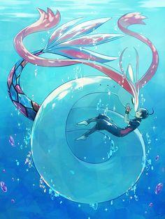 Pokemon Real, Water Type Pokemon, Oc Pokemon, Pokemon Special, Pokemon Fan Art, Pokemon Cards, Pokemon Fusion, Pokemon Backgrounds, Cool Pokemon Wallpapers