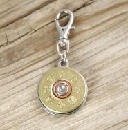 16 Gauge Brass Bullet Pet Tag; $19.95