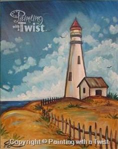 "End your Monday on a good note!  ""Afternoon at the Lighthouse"" will be taught Monday Jan, 18 at 7:30pm"