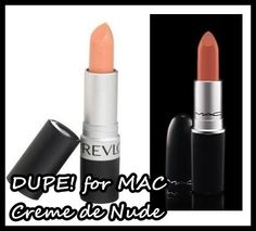 Dupe - for MAC's Creme de Nude