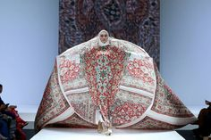 TALK ABOUT MAKING A STATEMENT at the Indonesian Islamic Fashion Fair?  image credit: IIFF