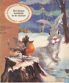 Het kleine konijntje in de sneeuw - Anne-Marie Dalmais en illustrator Giovanni