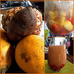 Backtoeden: Batido de Yacón y frutas Ice Cream, Desserts, Food, Juices, Fruit, Smoothie, Lunches, Orange, No Churn Ice Cream