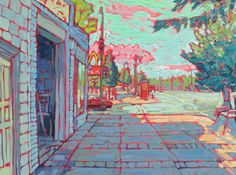 South Minneapolis neigborhood series-original by brendonfarley Minneapolis, Minnesota, Original Paintings, Studio, The Originals, Canvas, Etsy, Art, Tela