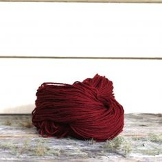 Harvest wool - Madder, dyed from madder root and indigo