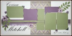 My Creative Ink: CTMH: Sonoma Layouts  *love the color palette, flowers and leaves