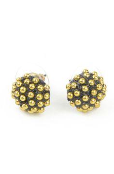 Studded Ball Earrings, $5.49