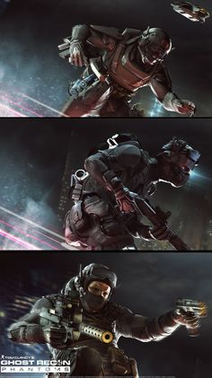 Character Concept, Concept Art, Character Design, Character Art, Ghost Recon Wildlands Ps4, Rainbow Six Siege Art, Military Action Figures, Military Special Forces, Future Soldier