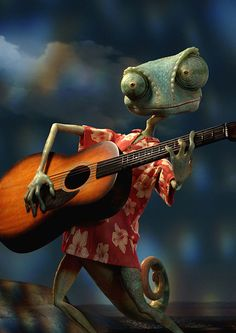 "Rango (2011).  ""Rango"" voiced by Johnny Depp."