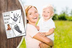 Baby Handprint & Footprint Kit. A 'forever' keepsake!