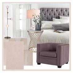 """Springtime bedroom"" by atpstudio on Polyvore featuring interior, interiors, interior design, Casa, home decor, interior decorating, Pier 1 Imports, Curtainworks, PBteen e Dash & Albert"
