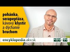 Serapeptáza, pohánka, kávový klystír a brušné dýchanie - YouTube Detox, Science, Memes, Tips, Youtube, Meme, Youtubers, Youtube Movies, Counseling