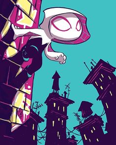 Spider-Gwen Vol. 2 #001 variant edition by Skottie Young
