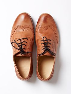 Brogues stretched