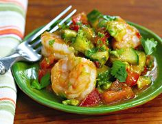 Spicy Asian shrimp cocktail: I love it for lunch, dinner, any time!
